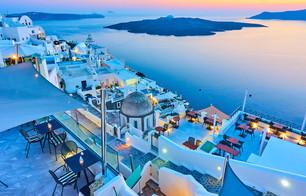 Santorini-Evening-in-Santorini-Thira-tow