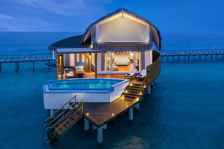 JW Marriott Maldives Overwater Pool Vill