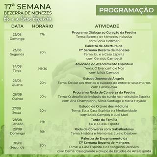 PROGRAMAÇÃO - 17ª Semana Bezerra de Menezes.png