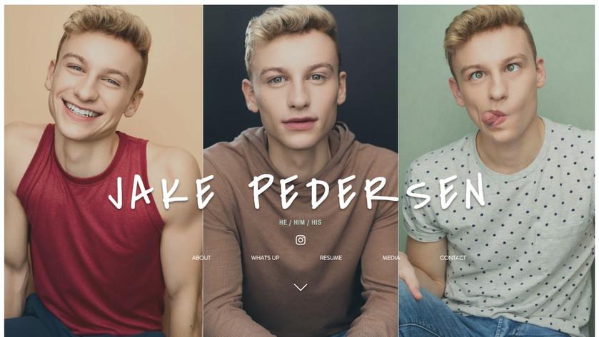 Jake Pedersen   He / Him