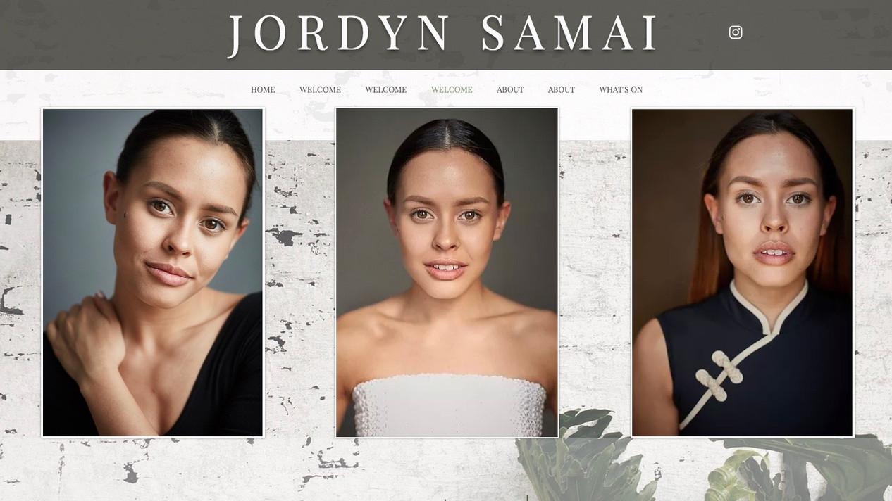 Jordyn Samai   She / her