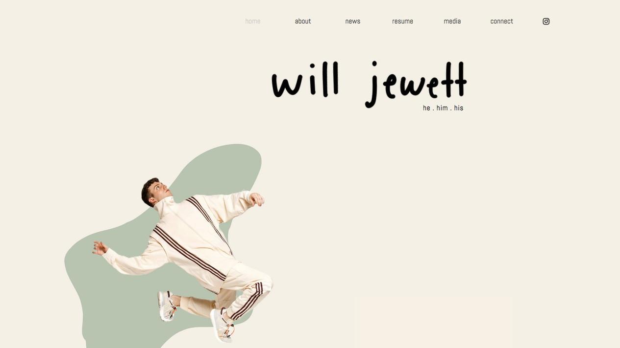 Will Jewett   He / Him