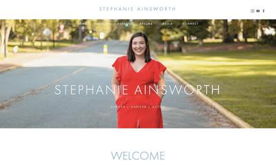 Stephanie Ainsworth   She / her