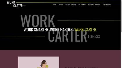 Work Carter   Fitness Studio