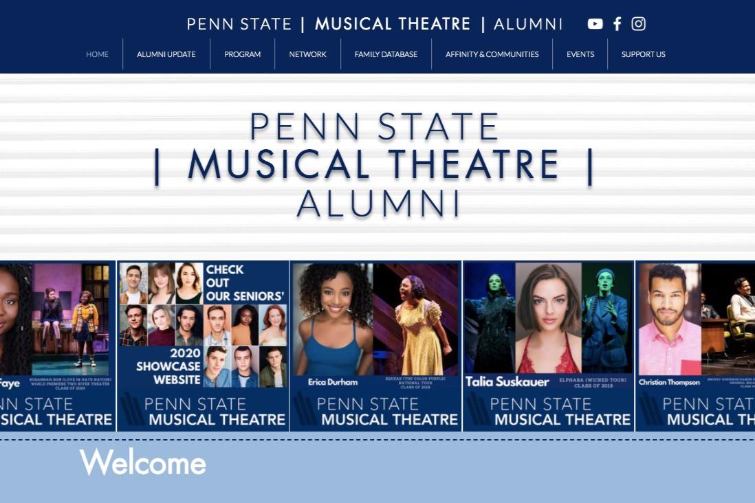 Penn State Musical Theatre Alumni