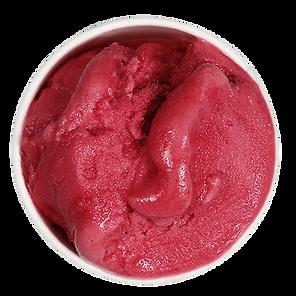 Strawberry Sorbet Scoop