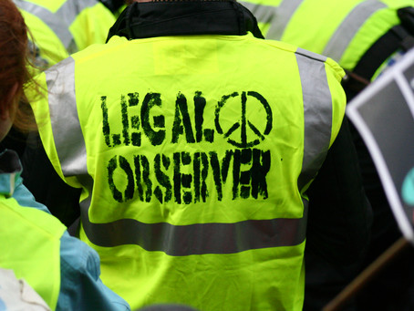 Legal Info for Protest in Scotland