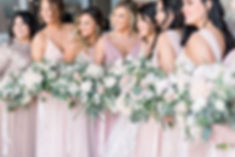 Sioux Falls Souh Dakota Blush Wedding Flowers Thistle and Dot Floral Design
