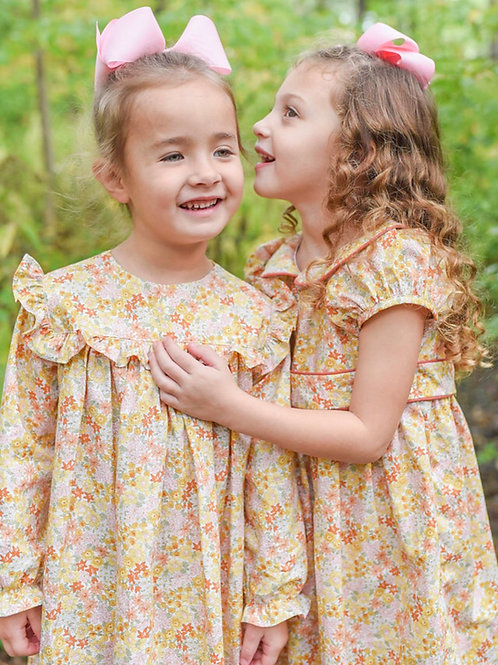 James & Lottie - Cecilia Marigold Dress