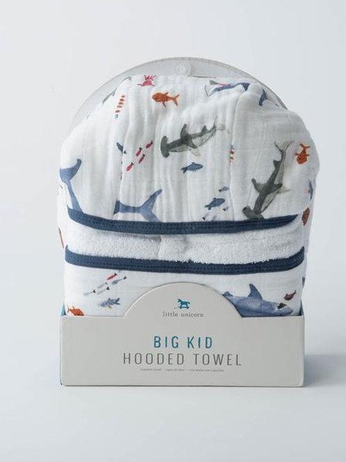 Big Kid Hooded Towel