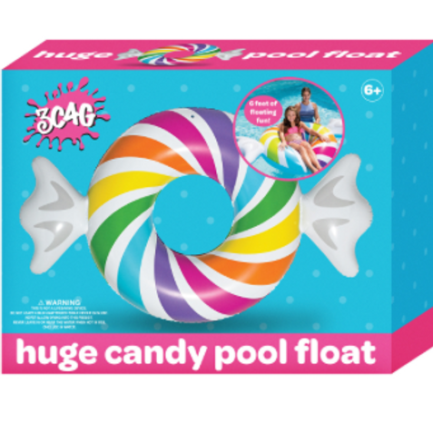 Candy Pool Float 6'