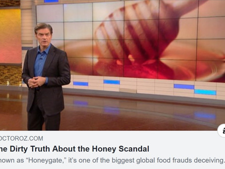 Dr. Oz Discusses Honey Fraud and Pollen Testing
