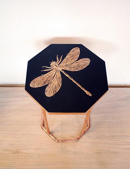 Beistelltisch Kupfer Insekten