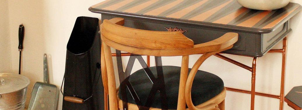 Alte Möbel neu gestaltet     Vintage