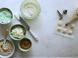Kuchen garnieren