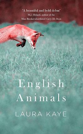 English Animals book cover