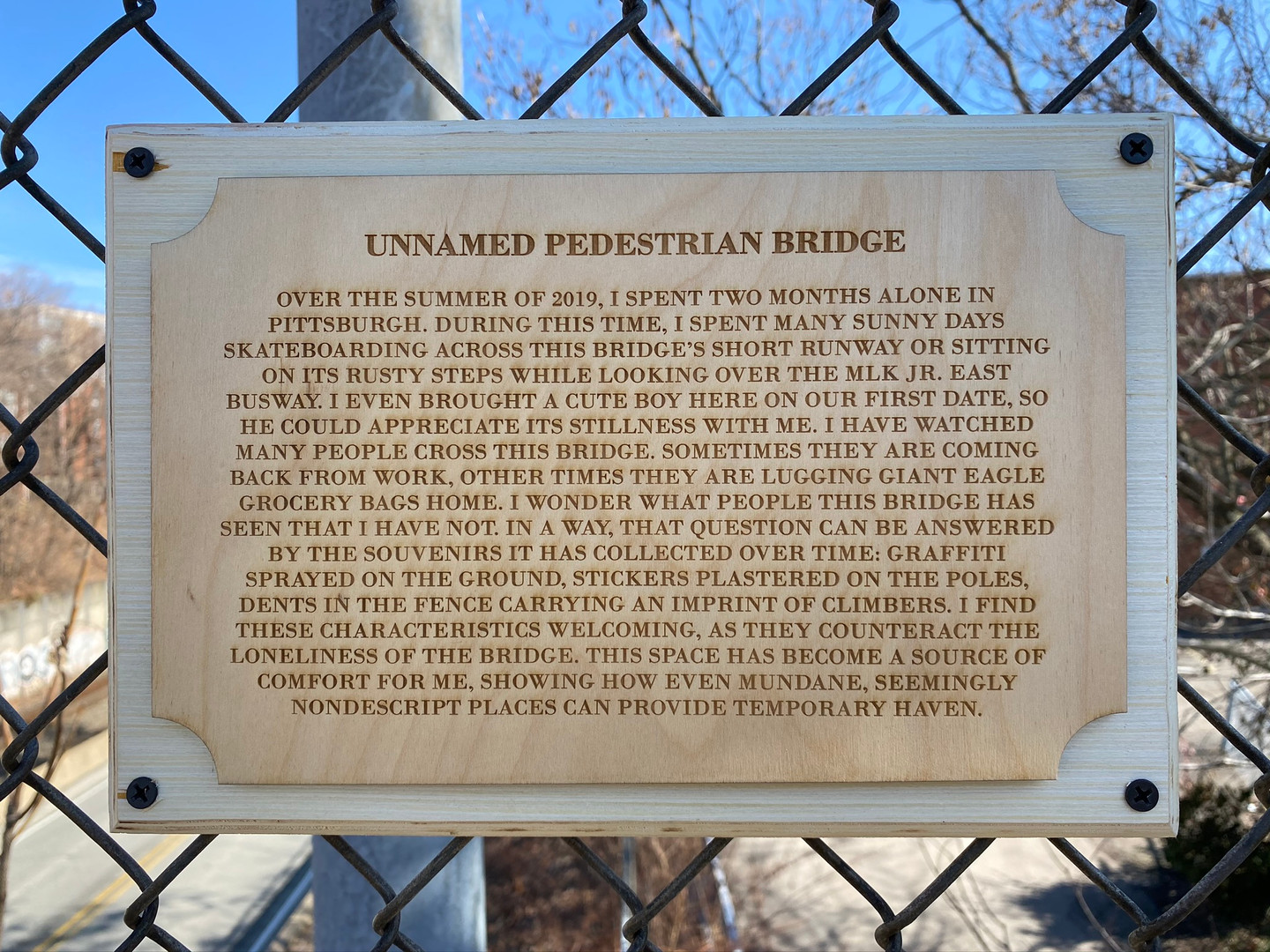 Unnamed Pedestrian Bridge