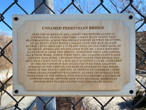 Unnamed Pedestrian Bridge