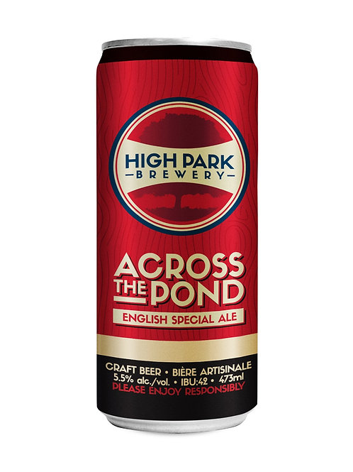 Across the Pond English Special Ale High Park Brewery Can