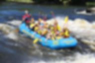 group of peopl rafting on Ottawa River
