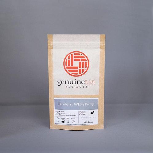 Blueberry White Peony, Genuine Tea Co.