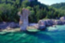 toronto, bruce peninsula, flowerpot island, grotto, indian head cove, bruce peninsula national park, hiking, swimming