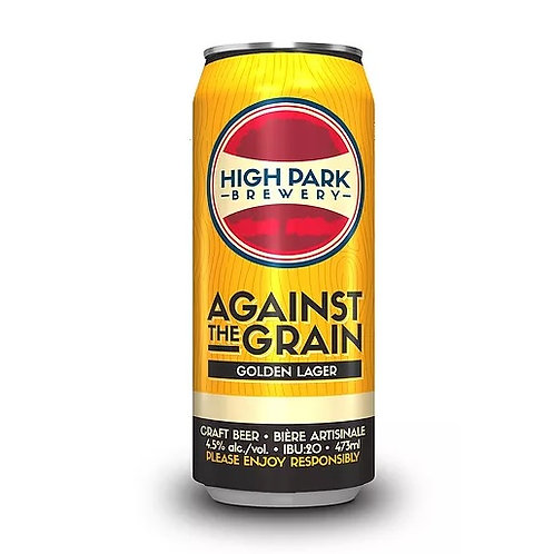 Against the Grain Golden Lager High Park Brewery Can