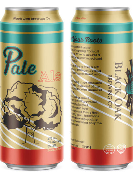 Pale Ale Black Oak Brewery Can