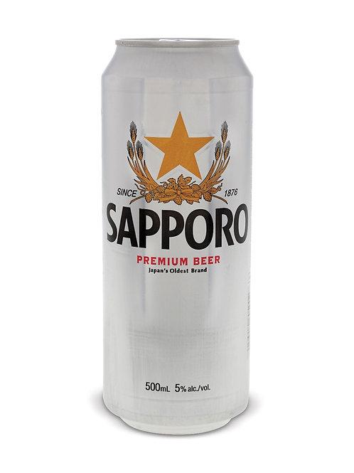 Sapporo 6 x 500 ml Can