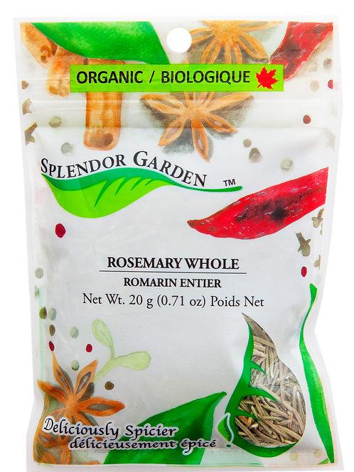 Organic Rosemary Whole 20g