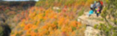 Group of people overlooking Dundas Peak, Hamilton