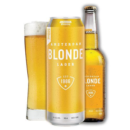 Amsterdam Natural Blonde 6 x 355 ml Bottles