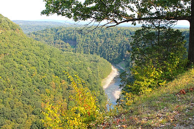 lookout of the letchworth state park
