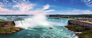 Niagara Falls and Hornblower Boat