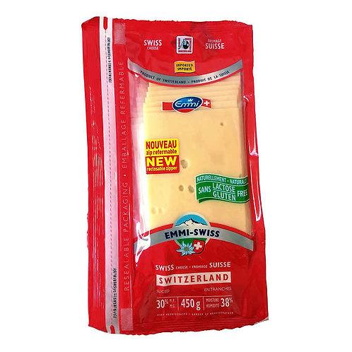 Emmi Swiss Sliced Cheese 450 g