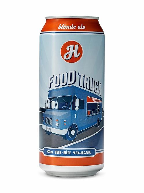 """Food Truck"" Lagered Blonde Henderson Brewery"