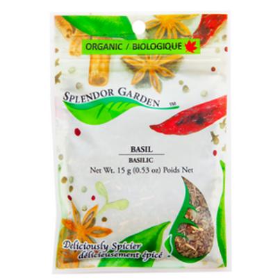 Organic Basil Ground 15g