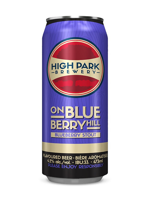 On Blueberry Hill Blueberry Stout High Park Brewery Can