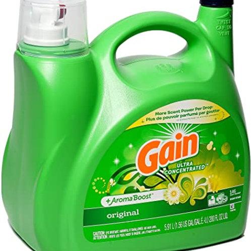 Gain Liquid Laundry Detergent, 5.91 L 146 Wash Loads