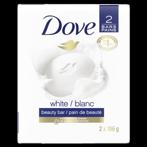 Dove Bar White 2 pieces