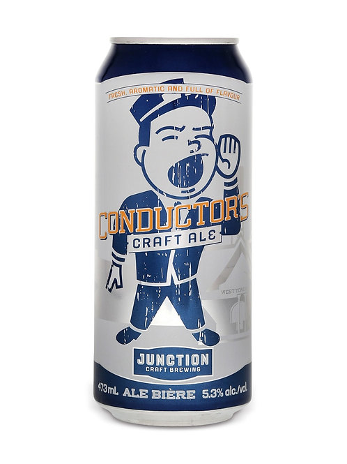 Craft Brewing Conductor's Craft Ale Junction Brewery Can