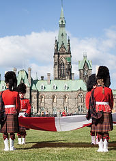 Changing guards in Ottawa