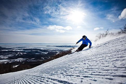 Skier in Mont Tremblant