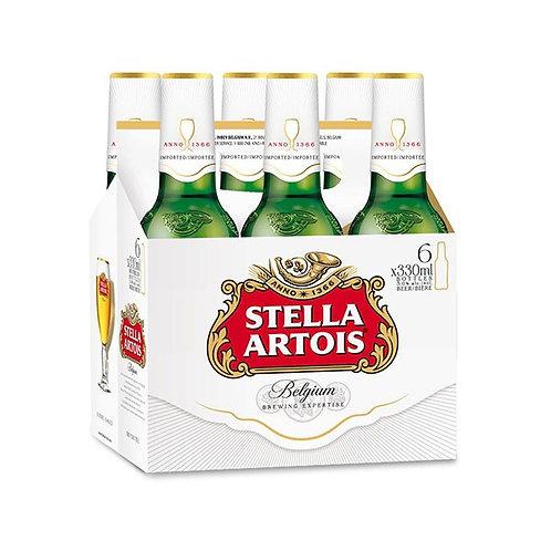 Stella Artois 6 x 330 ml Bottle