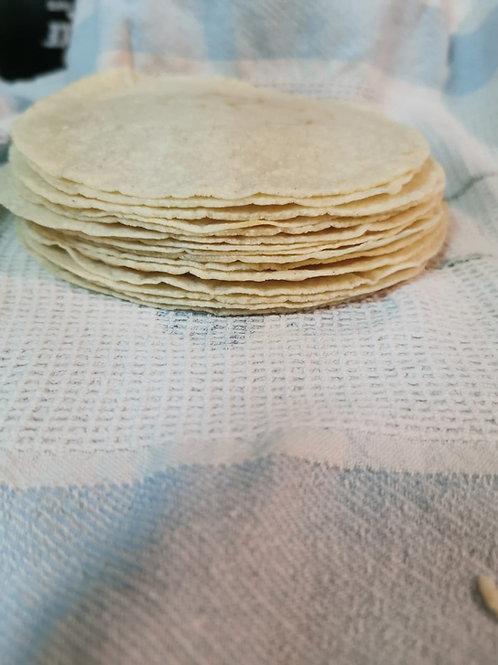 Corn Tortillas 15 Pieces