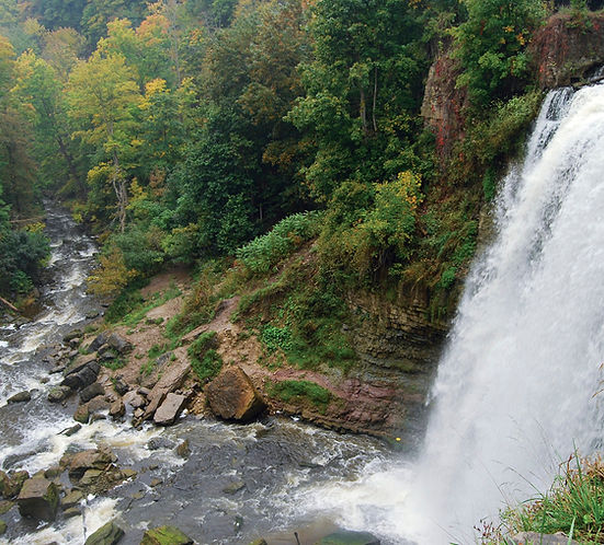 webster fall at Dundas Peak