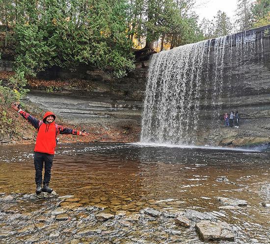 Bridal Veil Waterfalls, Manitoulin