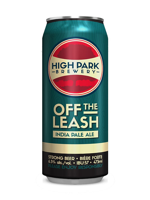 Off the Leash Indian Pale Ale High Park Brewery Can