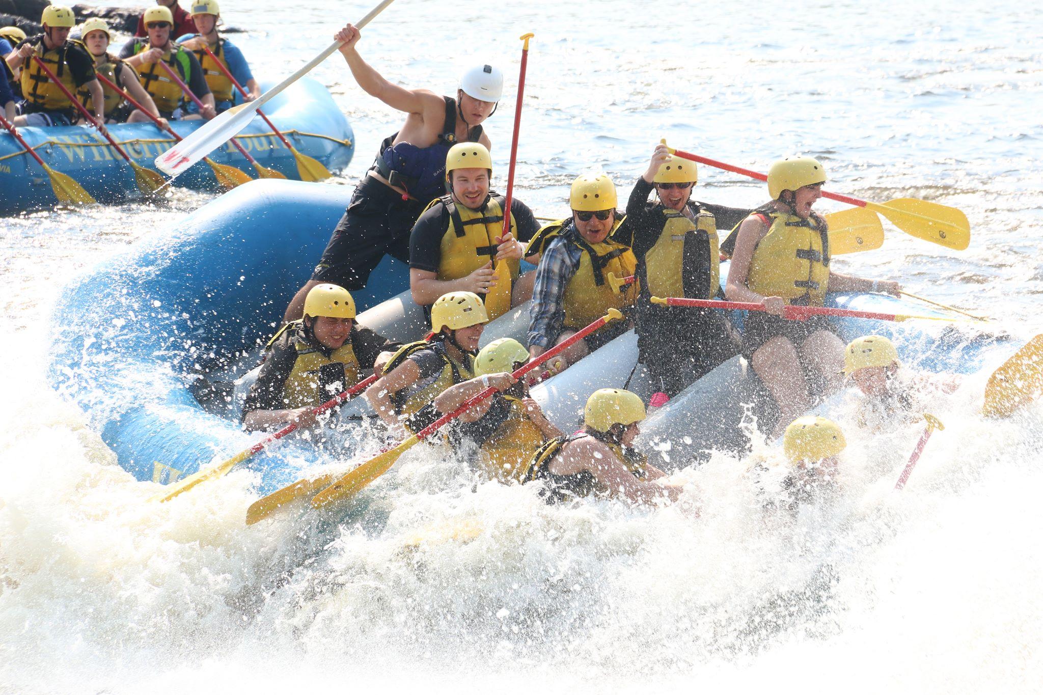 Rafting, Ottawa river, toronto