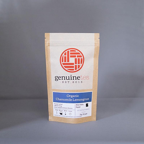 Organic Chamomile Lemongrass, Genuine Tea Co. 25g